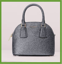 kate spade sylvia glitter mini dome satchel セール