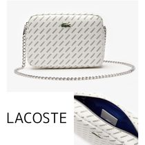 【LACOSTE】Lacoste LIVE Coated Print Canvas ショルダーバッグ