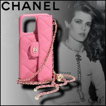 《2021SS CHANEL海外直営店》新作 iPhone12 ProMAX CLASSIC CASE