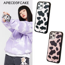 ★A PIECE OF CAKE★送料込★韓国 人気 Cow Pattern Phone Case