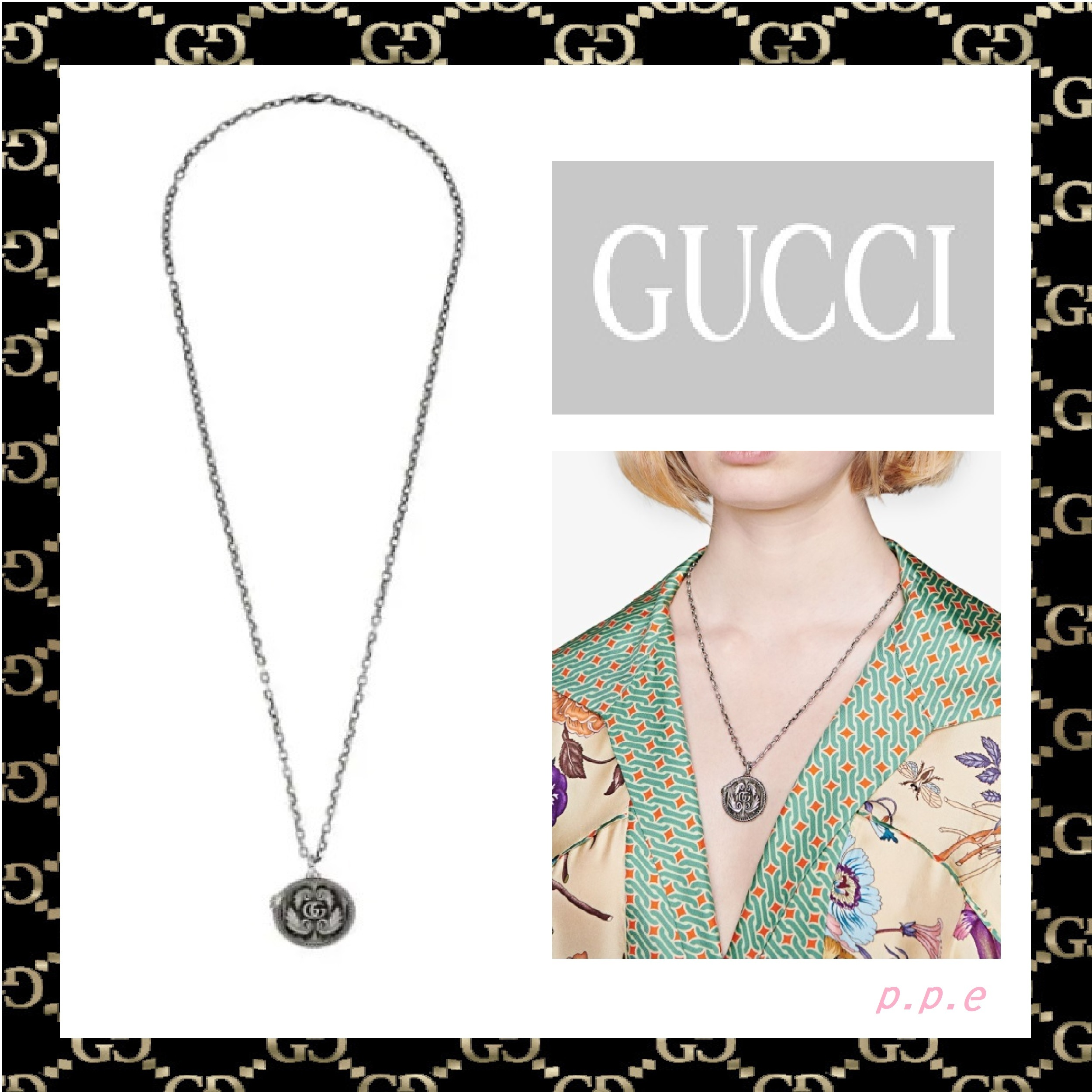 GUCCI ☆ GG MARMONT ペンダントネックレス (GUCCI/ネックレス・チョーカー) 63586283