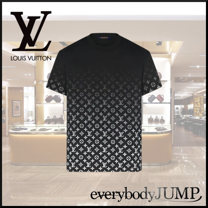 20FW 直営買付 Louis Vuitton モノグラムグラディエントTシャツ (Louis Vuitton/Tシャツ・カットソー) 1A89Z0