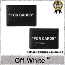 Off-White◆FORCARD プリント レザー カードケース Fv1020
