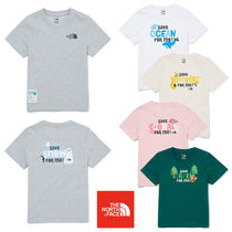 ★THE NORTH FACE★キッズ K'S GREEN EARTH S/S R/TEE NT7UM05