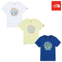 ★THE NORTH FACE★キッズ K'S MAGIC LAND S/S R/TEE NT7UM07