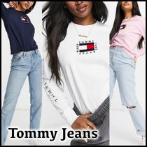 Tommy Jeans * フラッグロングスリーブ Tシャツ