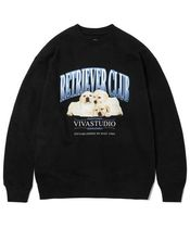 VIVASTUDIO ☆ THREE PUPPIES CREWNECK JA  ☆
