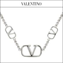 【VALENTINO】Vロゴ チェーンネックレス '関税込み'