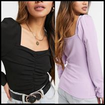 ASOS Y.A.S sweetheart neckline and ruched body