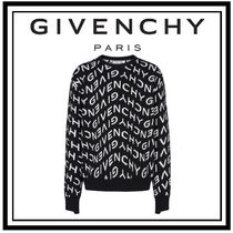 21SS【GIVENCHY】GIVENCHY REFRACTED ジャカード セーター