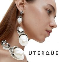 【Uterque】EARRINGS WITH FAUX PEARL EFFECT