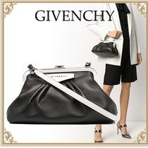 GIVENCHY☆ 2way Purse Shoulder Bag ラムスキン Black&White