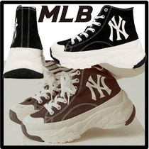 ★送料・関税込★MLB KOREA★CHUNKY HIGH NY★23-29cm★