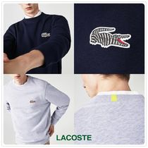 【LACOSTE × National Geographic】コラボ☆長袖スウェット