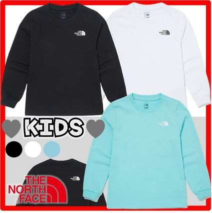 THE NORTH FACE(ザノースフェイス) キッズ用トップス ☆人気☆THE NORTH FACE☆K'S ESSENTIAL L/S R/TE.E☆