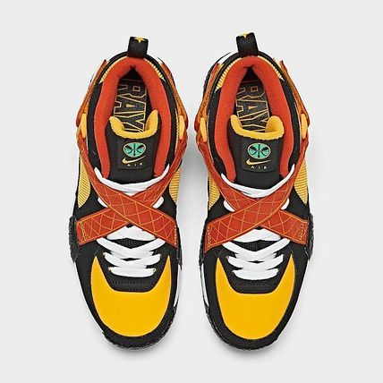 Nike キッズスニーカー BIG KIDS' NIKE X ROSWELL RAYGUNS AIR RAID - DD9281 001(5)
