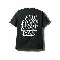 【国内即発】ANTI SOCIAL SOCIAL CLUB Blocked Tee ブラック