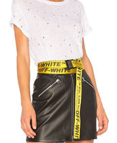 OFF-WHITE   INDUSTRIAL BELT YELLOW ベルト イエロー