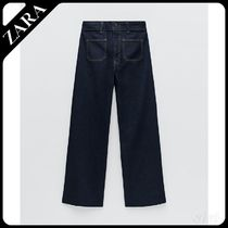ZW PREMIUM PATCH POCKET MARINE STRAIGHT デニムパンツ