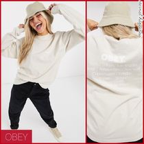 OBEY(オベイ) Tシャツ・カットソー 《OBEY》No justice No peace*バックプリントロンT【送料込】