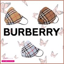 【BURBERRY】Vintage Check Cotton Face Mask 新色あり!