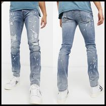 ASOS Topman skinny jeans with rips