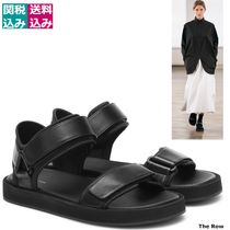 RUNWAY限定/関税込THE ROW Hook and Loop leather sandals446999