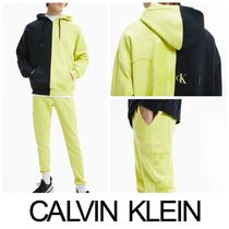 【Calvin Klein Jeans】BLOCKING RELAXED セットアップ☆LIME