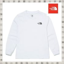 THE NORTH FACE 韓国 K'S ESSENTIAL L/S R/TEE ロンT コットン