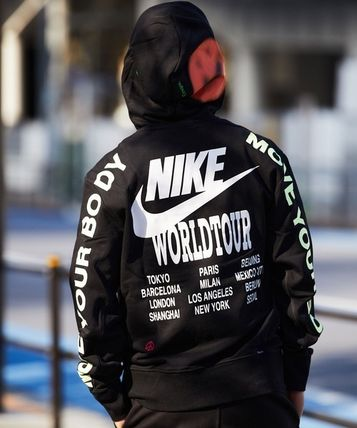 Nike パーカー・フーディ 国内発【NIKE】★AS M NSW PO FT HOODIE WORLDTOUR★(15)