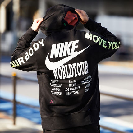Nike パーカー・フーディ 国内発【NIKE】★AS M NSW PO FT HOODIE WORLDTOUR★(16)