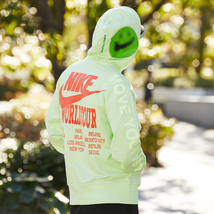 Nike パーカー・フーディ 国内発【NIKE】★AS M NSW PO FT HOODIE WORLDTOUR★(19)