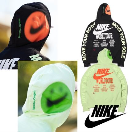Nike パーカー・フーディ 国内発【NIKE】★AS M NSW PO FT HOODIE WORLDTOUR★