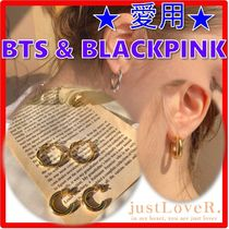 ☆BTS・BLACKPINK 着用☆【justLoveR】☆LOUISE KNOT EARRING.S