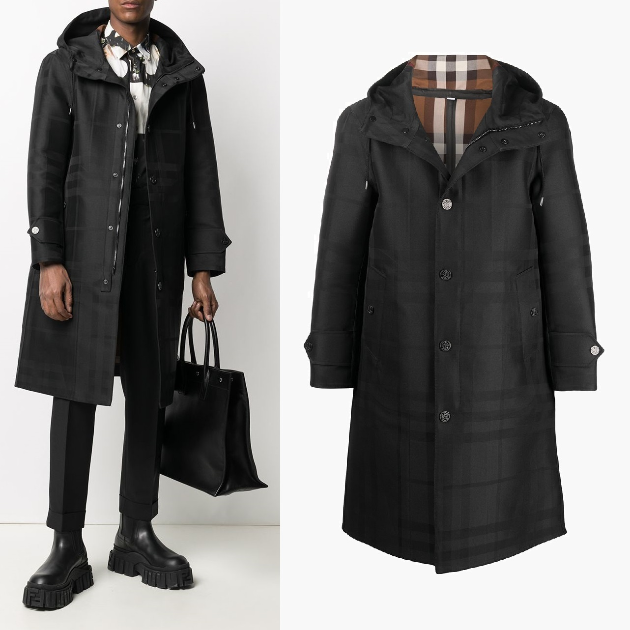 BURBERRY  WITHAM テクニカルコットンパーカ☆国内発送/関税込 (Burberry/コートその他) 8036863125001A1003
