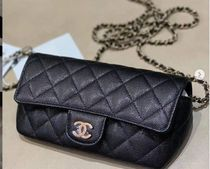 最新作★2021 CHANEL★Glasses case in Black