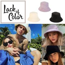 lack of color(ラックオブカラー) ハット 国内発送 ★.. Wave Bucket Terry - バケットハット 三色  ..★