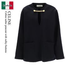 Celine sailor peacoat with sulky buttons