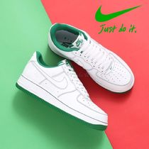 "国内発【NIKE】Air Force 1 '07 ""WHITE/WHITE-PINE GREEN"""