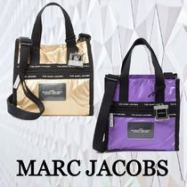 ★SALE☆【MARC JACOBS】ロゴストップ ミニ トート バッグ
