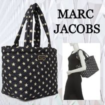 ★SALE☆【MARC JACOBS】ロゴキルト星ミディアムプリントトート