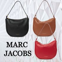 ★SALE☆【MARC JACOBS】ロゴレザー ホーボー バッグ