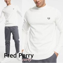 【FRED PERRY】クルーネックニット 送料・関税込み