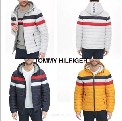 Tommy Hilfiger★Quilted Color Blocked★パッファージャケット