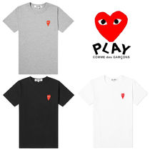 PLAY COMME des GARCONS(プレイコムデギャルソン) Tシャツ・カットソー 関送込★PLAY COMME des GARCONS★大人気ハートコットンTシャツ