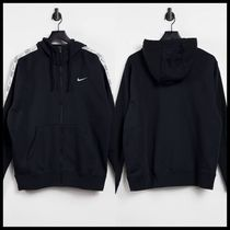 Nike Repeat logo taping fleece hoodie
