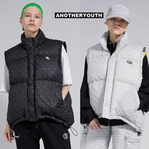 ANOTHERYOUTH(アナザーユース) ダウンベスト ANOTHERYOUTH正規品★20AW★チェックダックダウンベスト