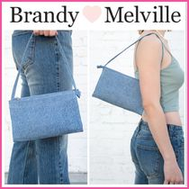 2021Cruise新作♪☆Brandy Melville☆ LIGHT DENIM PURSE