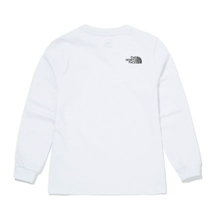 THE NORTH FACE キッズ用トップス ★THE NORTH FACE★送料込み★K'S ESSENTIAL L/S R/TEE NT7TM01(6)