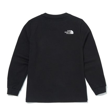 THE NORTH FACE キッズ用トップス ★THE NORTH FACE★送料込み★K'S ESSENTIAL L/S R/TEE NT7TM01(11)